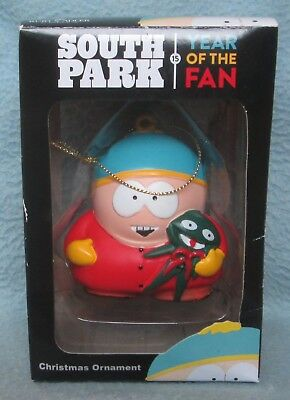 CARTMAN SOUTH PARK YEAR OF THE FAN CHRISTMAS ORNAMENT Kurt S Adler