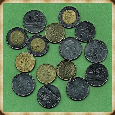 ITALY - Small Collection of Coins.  Many coins in AU to Unc.