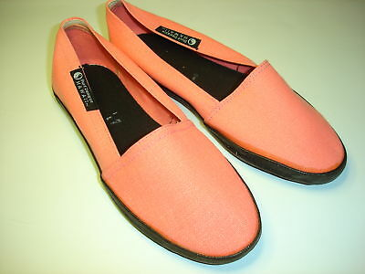 Vintage80's Surf Designs Hawaii by T&C canvas slip-on