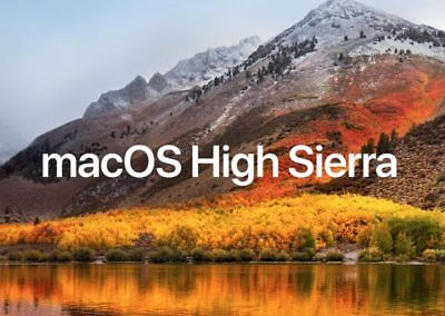 macOS High Sierra 10.13 on Bootable USB Flash Drive for Installation or Upgrade