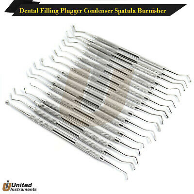 Range Of Dental Composite Filling Scalers Instrument Plugger Spatulas Lab Tools