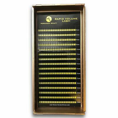 Individual Eyelash Extension Y 2d Volume Lashes Finished Compartments C D 0,10mm