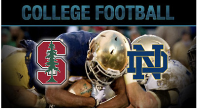 2 Tickets for Notre Dame vs Stanford on 9/29 - Section 111