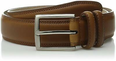 Stacy Adams Men's 34mm Geniune Leather Belt with Microfiber Lining leather top