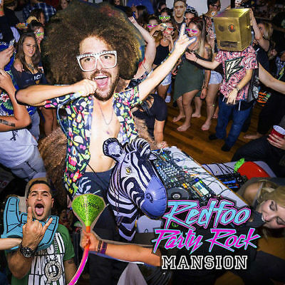 RedFoo - Party Rock Mansion [New & Sealed] Digipack CD