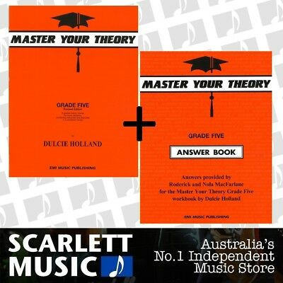 Master Your Theory Grade 5 Five Bundle Theory Book and Answers *SAVE OVER 15%*
