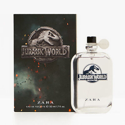 [ZARA JURASSIC WORLD] Children's Fragrance Perfume Eau De Toilette 50ml NEW