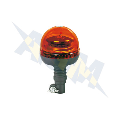 Durite 0-444-59 Flexi DIN Mount Multifunctional Amber LED Beacon, 12/24v