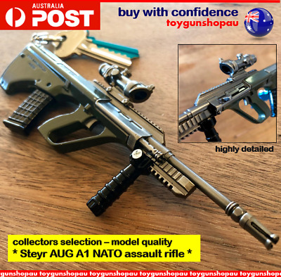 AUG A1 KEYRING PUBG AUG A1 Model NATO Assault Rifle Gun Keychain AUG gun  keyring
