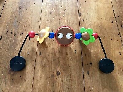 """BabyBjorn Wooden Toy For Bouncer With""""googly"""" Eyes"""