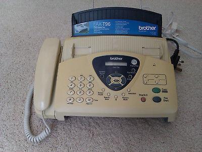Brother T-96 Telephone, Answer Machine, Fax, Copier