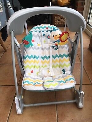 Rainforest Take Along Baby Swing And Seat Set By Fisher-price