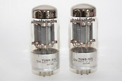 Monster Triode: TUNG-SOL 7241 Tube, High Power Triode, long life, MIL, NOS