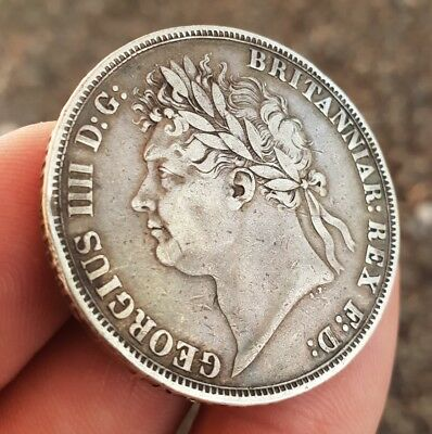 1821 George IV Secundo Crown b