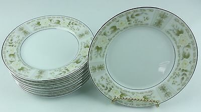 Ardmore by Fine China of Japan 5032 Pattern 8 White Floral Bread Butter Plate