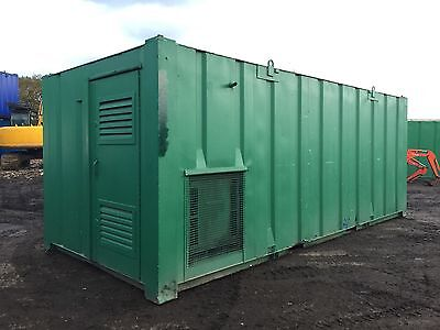 Portable Welfare Unit Cabin Site Office Canteen Toilet Generator Steel Building