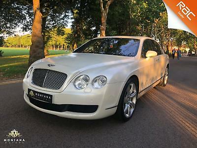 2006 Bentley Continental Flying Spur, Satin White Full Dealer History - Amazing!