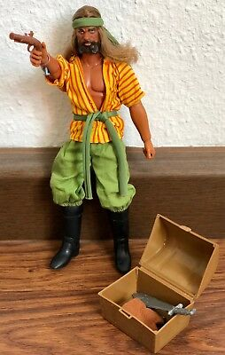 Selten ✨Action Figur ✨Big Jim Pirat Sandokan 70er vintage