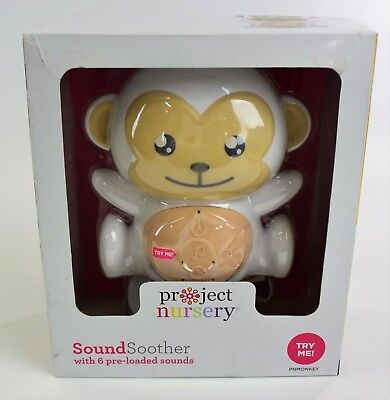 Project Nursery SoundSoother with 6 Pre-Loaded Sounds New Sealed