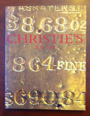 Gold Rush Treasures - SS Central America - Christie's auction catalog, 2000, NEW