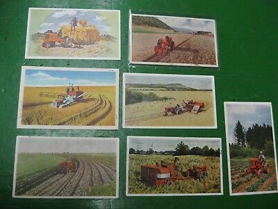 Original Allis Chalmers AC Post Cards Lot of 7 WC RC All Crop