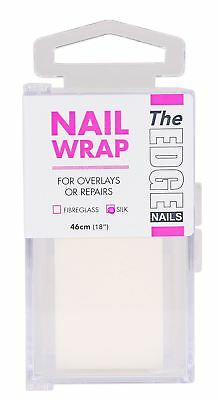 "The Edge Silk Strip 46cm (18"") false nails tips wraps overlays repairs"