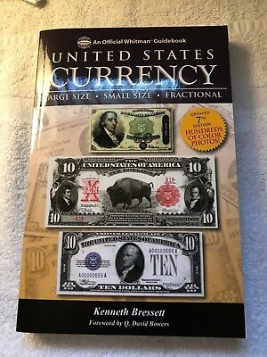 CURRENCY GUIDE - GUIDE BOOK of U.S. CURRENCY - HISTORY + GRADING + VALUES