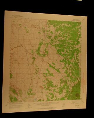 Valle Arizona 1964 vintage USGS Topographical chart map