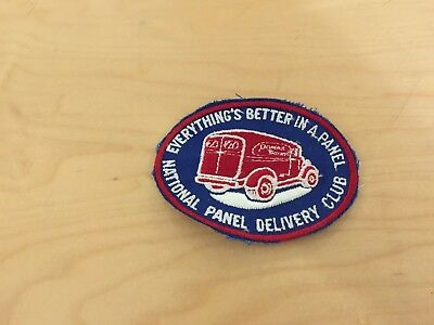panel truck patch, national delivery club  1960's