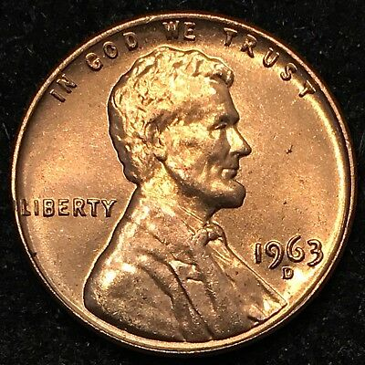1963-D Lincoln Cent