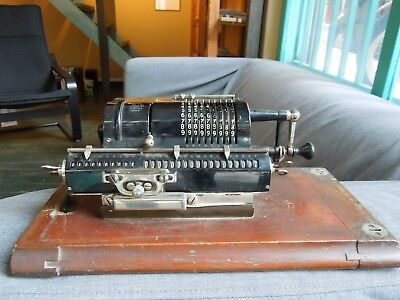 Guy's Britannic Pinwheel Calculator - Vintage Calculating Machine