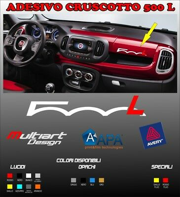 Adesivo Per Cruscotto Fiat 500 L Stickers Decal Tuning Sport 500