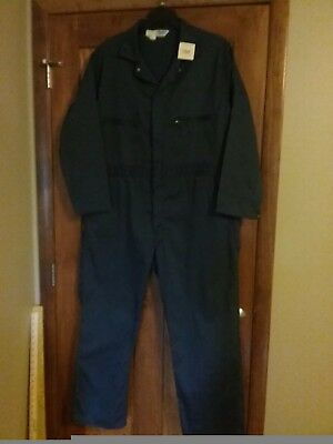 "New. Key Imperial 46""x29"" navy blue long sleeve coveralls. Free shipping"
