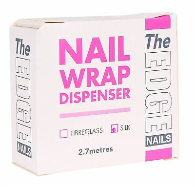 THE EDGE NAIL WRAP DISPENSER (SILK) 2.7M tips extensions nails wraps