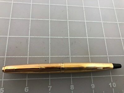 Judd's Very Nice Parker 45 Gold Plated Fountain Pen w/14kt Gold Fine Nib