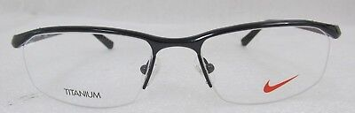 f9bafdac61 NIKE EYEGLASSES 6037 001 Black Chrome Demo 53 17 135 -  137.75 ...