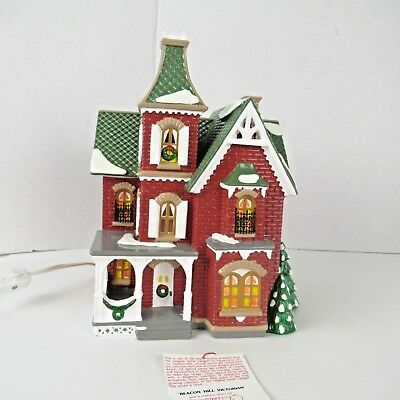 Department 56 Beacon Hill Victorian Snow Village Chirstmas