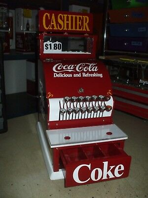 1924 Coca-cola theme candy store national cash register with keys diner arcade