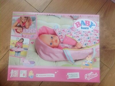 BABY Born 2in1 Sleeping Bag and Carrier