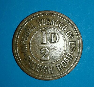 IMPERIAL TOBACCO Co 1/2D TOKEN