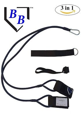 BB-Bands Baseball Softball Arm Strength Resistance Stretch Bands Brand New J
