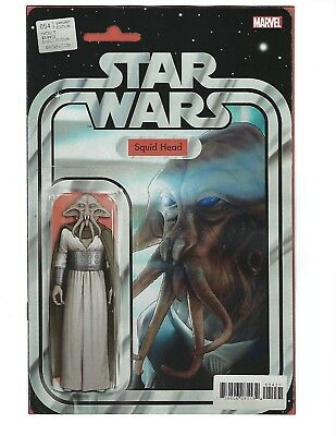 STAR WARS # 54 (SQUID HEAD Action Figure Variant Cover. NOV 2018) NM NEW