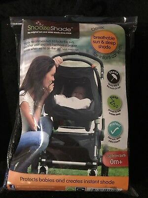 Snoozeshade Sun Shade For Infants / Kids / Child Car Seats - Classic