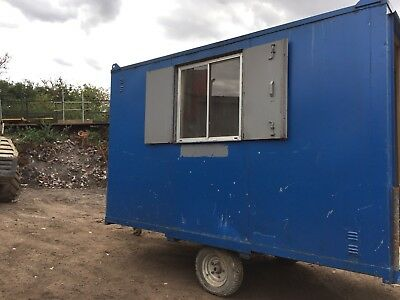 Towable Site Office Welfare Cabin Drying Room Anti Vandal