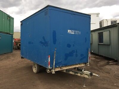 Towable Site Office Cabin Anti Vandal Steel More Available
