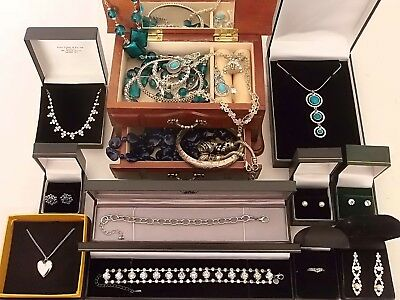 Job lot of vintage and modern jewellery inc 925 sterling silver