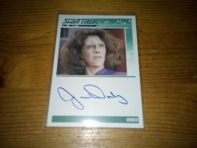 Star Trek The Complete Next Generation Series 2 Autograph Card Of Jane Daly