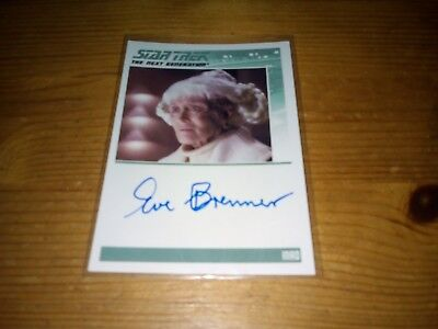 Star Trek The Complete Next Generation Series 2 Autograph Card Of Eve Brenner