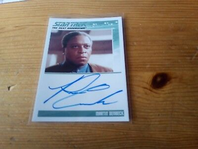 Star Trek Complete Next Generation Series 2 Autograph Card Of Ron Canada