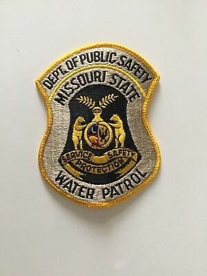 Missouri State Water Patrol Police Patch